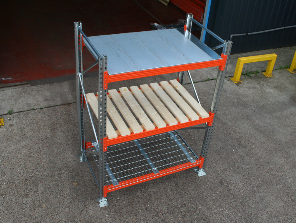 Pallet Racking – Extension Bay 3500mm High x 1100mm Deep (Internal)